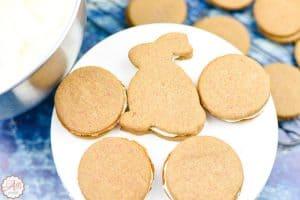 Easy Carrot Cake Sandwich Cookies
