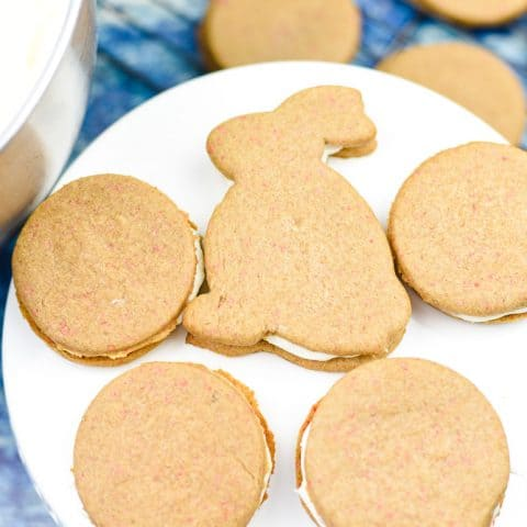 Easy Carrot Cake Sandwich Cookies