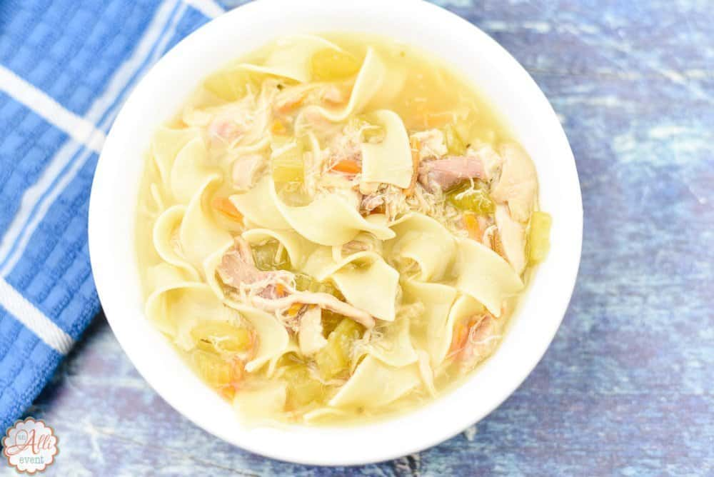 How to Make Comforting Chicken Noodle Soup
