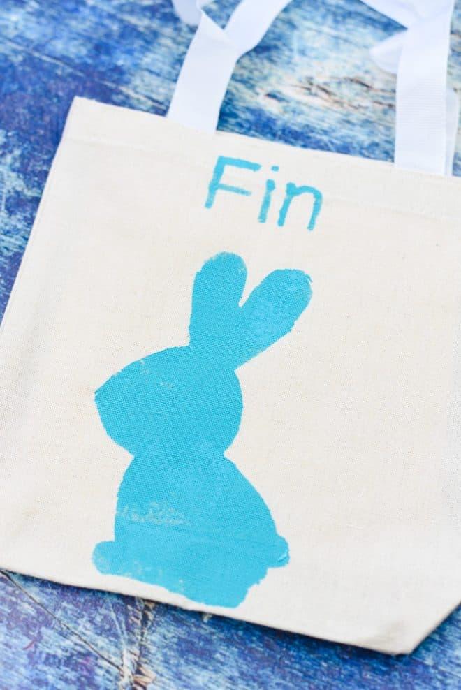 How to Make DIY Easter Bag