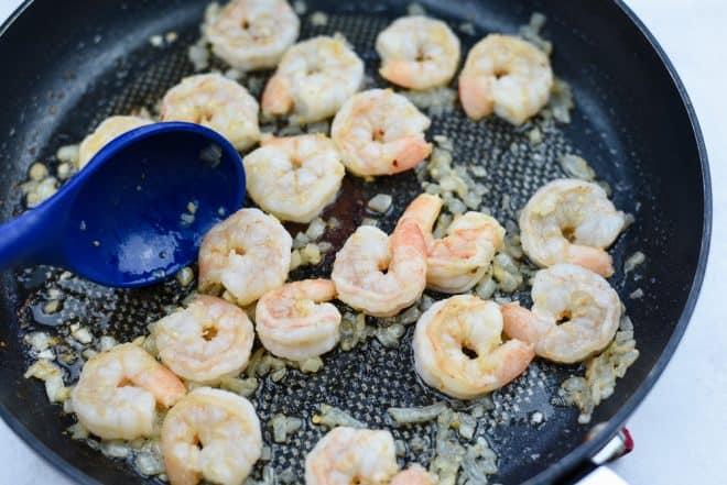 Cook Shrimp for Shrimp Scampi