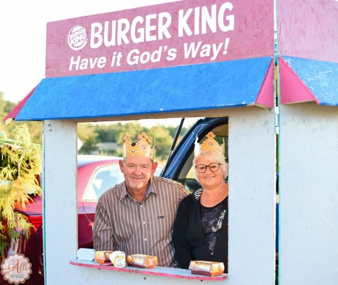 Burger King - Best Ever Trunk or Treat Ideas
