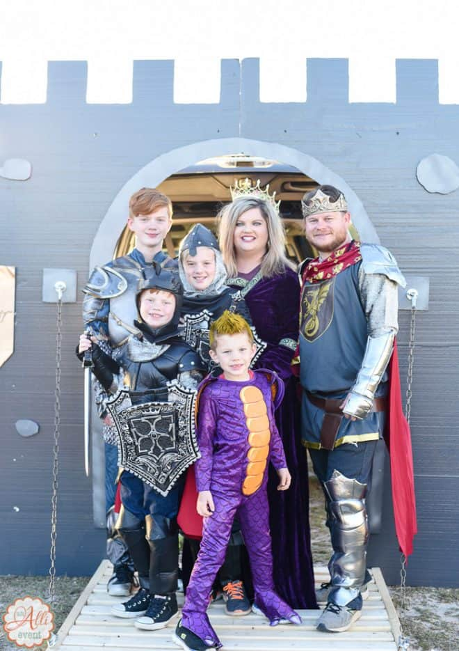 King Arthur - Best Trunk or Treat Ideas