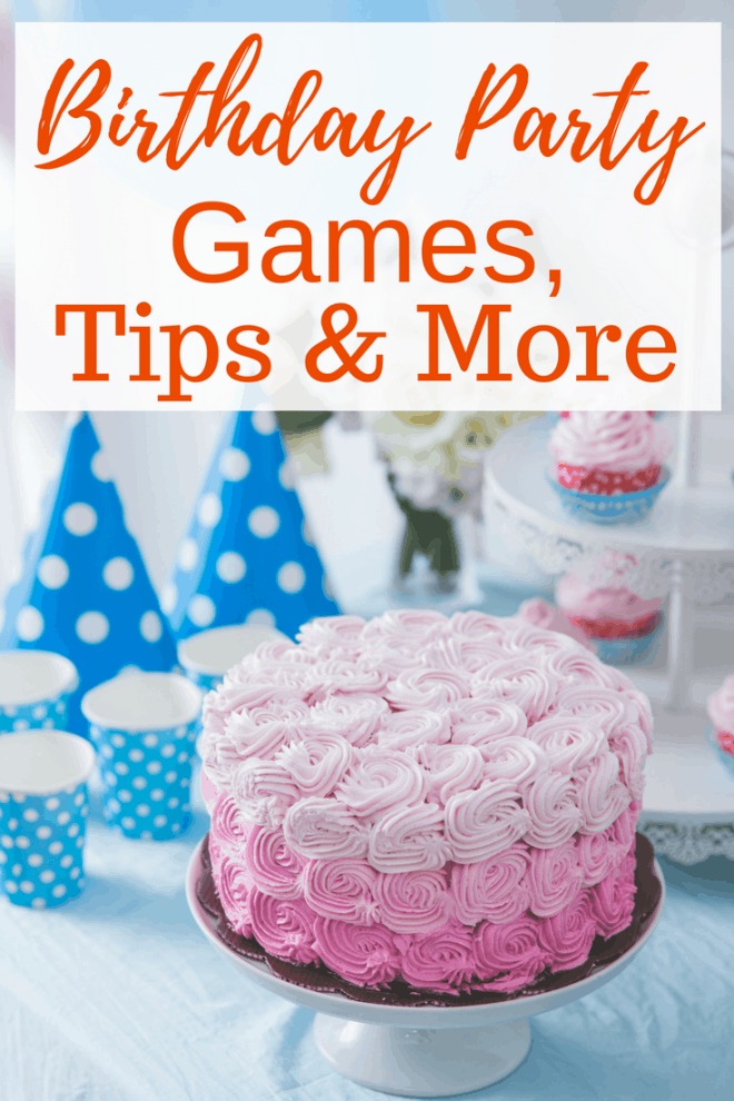 Are you throwing a birthday bash? Check out these great ideas for birthday party games, tips and more!
