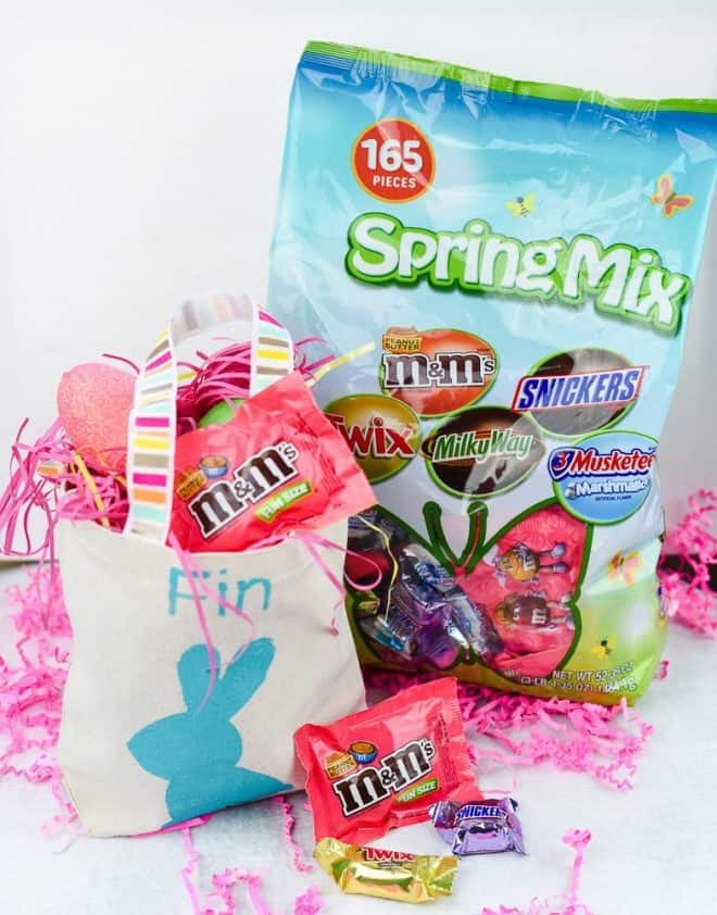 Easter Treat Bags - Easy Pastel Spring Tablescape