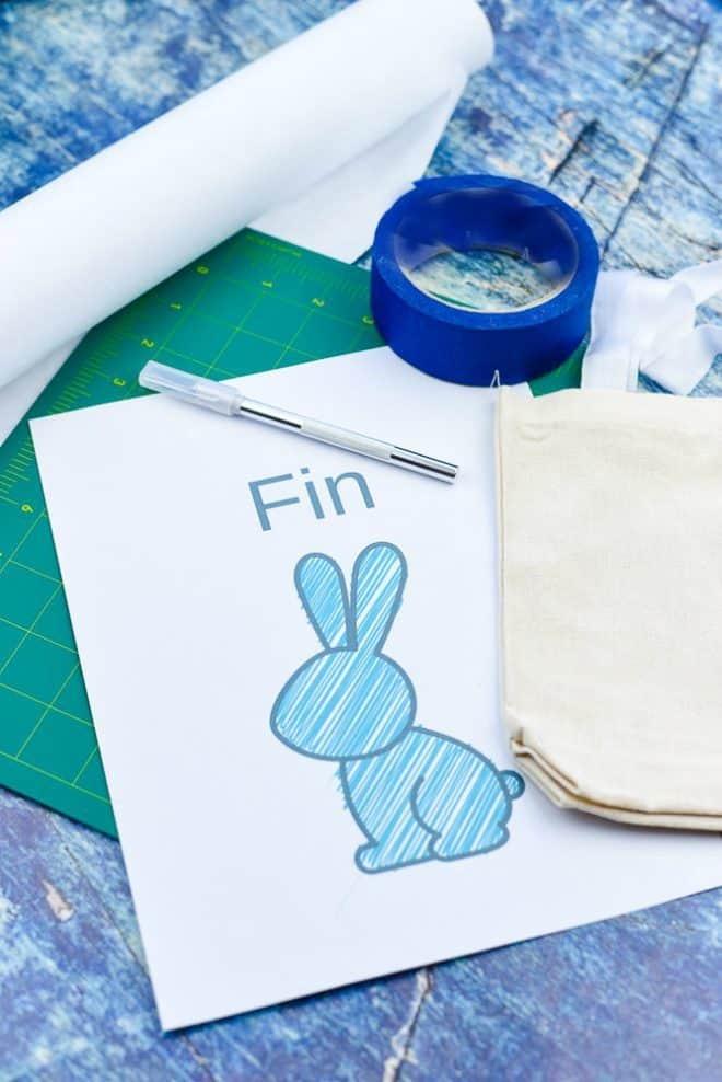 Easy DIY Easter Bag