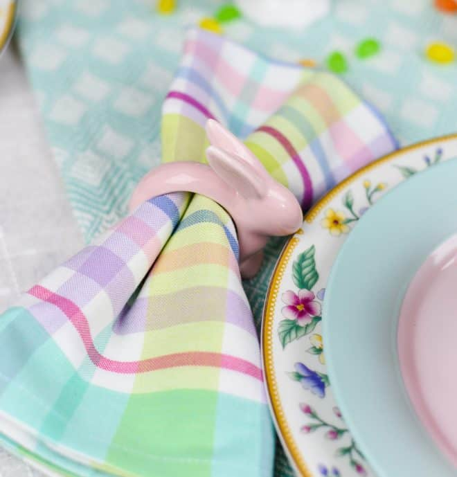 Napkin Rings - Easy Pastel Spring Tablescape
