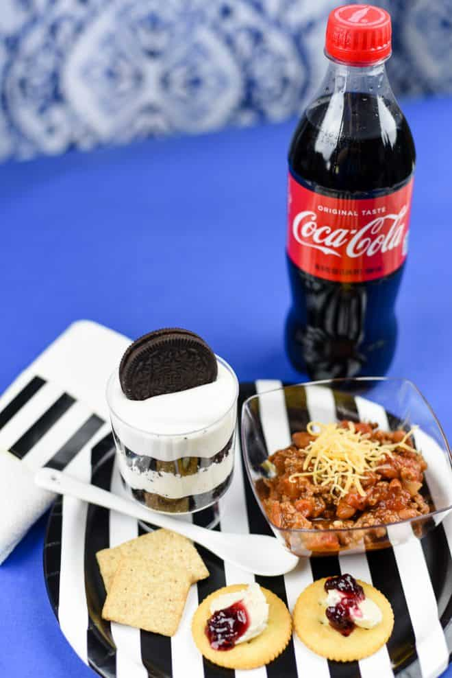 Food Plate - OREO Cookies Parfait