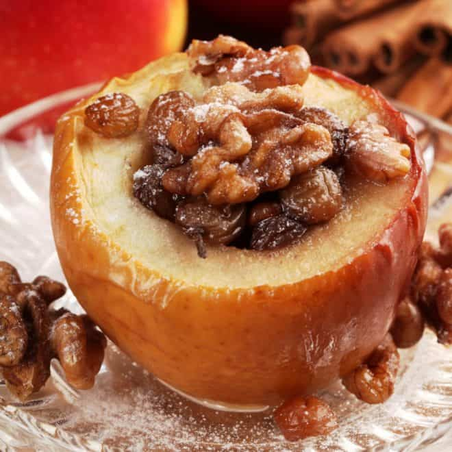 Air Fryer Recipes - Baked Apples
