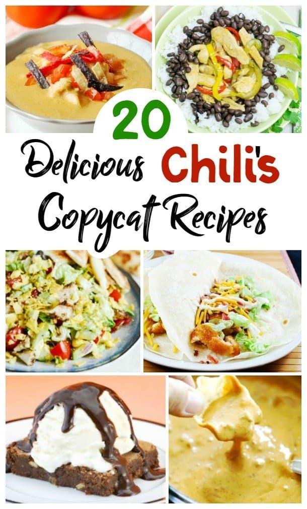 Chili's Copycat Recipes