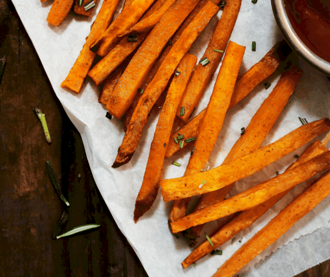 sweet potato fries - air fryer recipes
