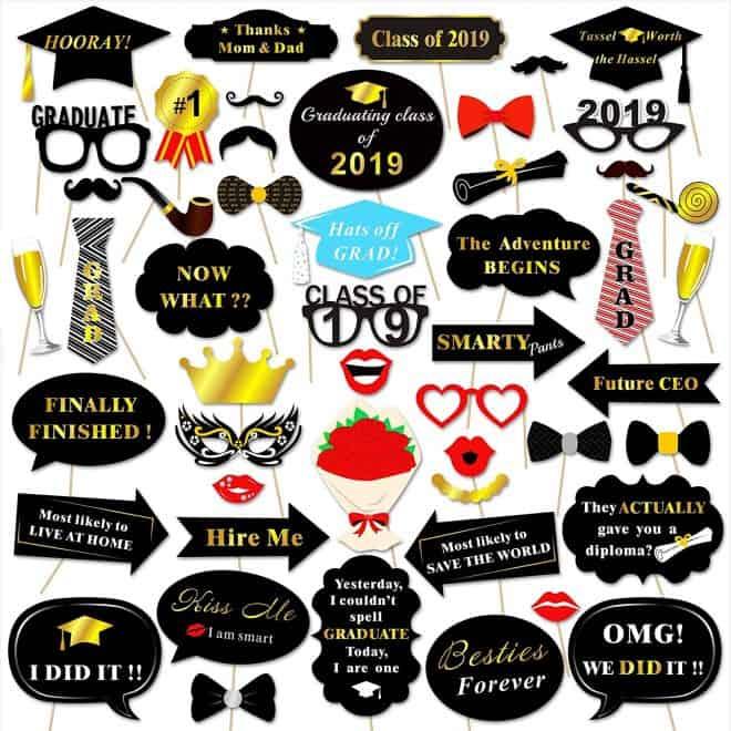 Graduation Theme Party Props