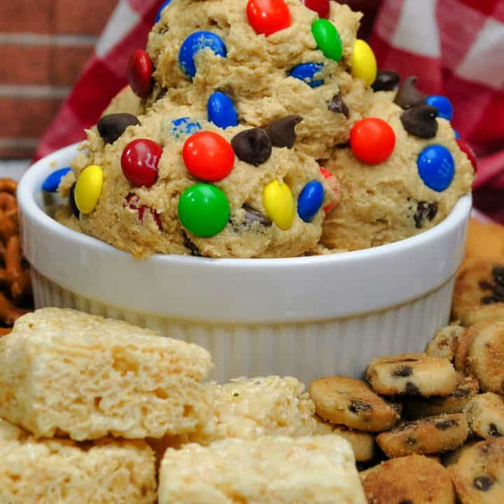 M&M Crazy Cookie Dough Dip