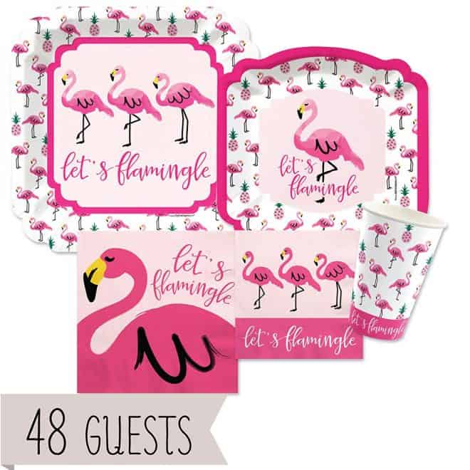 Flamingo Cupcakes and Party Ideas