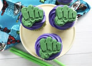 The Incredible Hulk Cupcakes Are Adorable