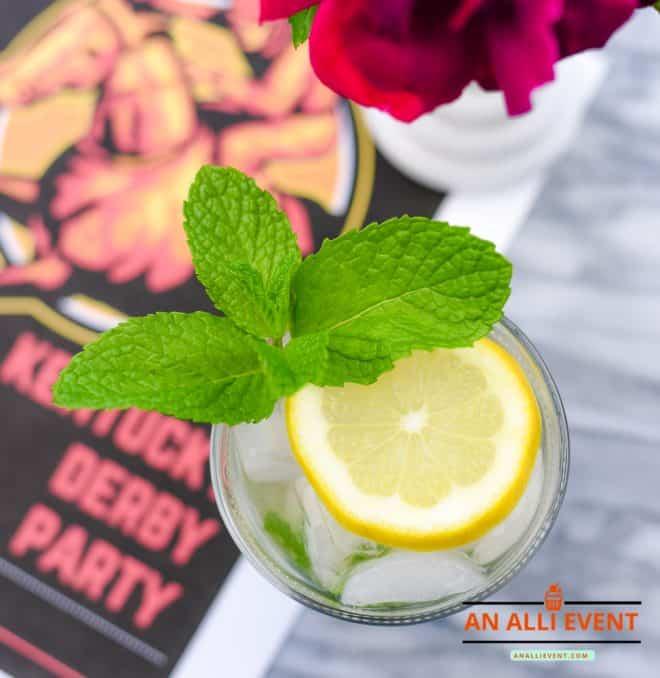 Kentucky Derby Party - Mint Julep Mocktail