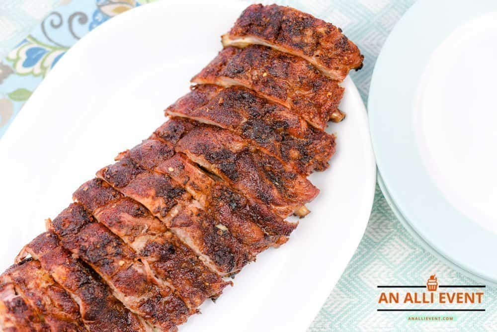 Ginger and Sweet Tea Infused Grilled Ribs