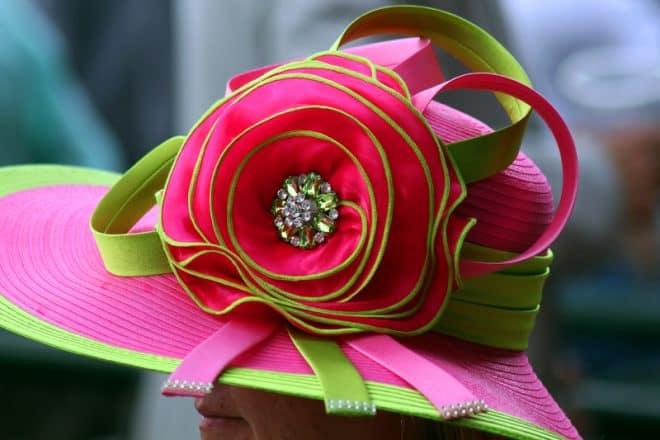 Mint Julep Mocktail - Kentucky Derby Hat