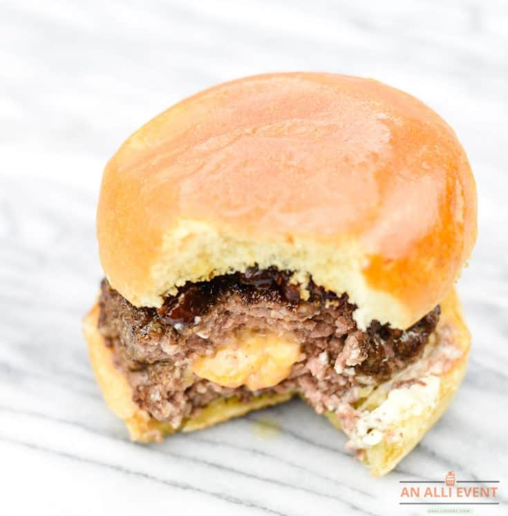 Burger is Ready - Bacon Jam Pimento Cheese Burger