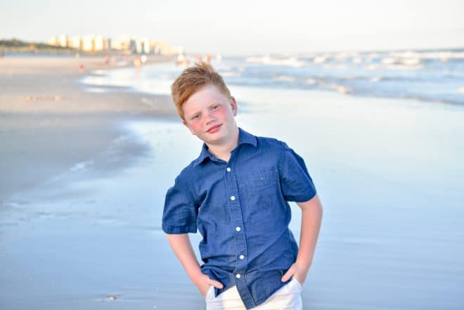 Beach Photo Tips - Shades of Blue