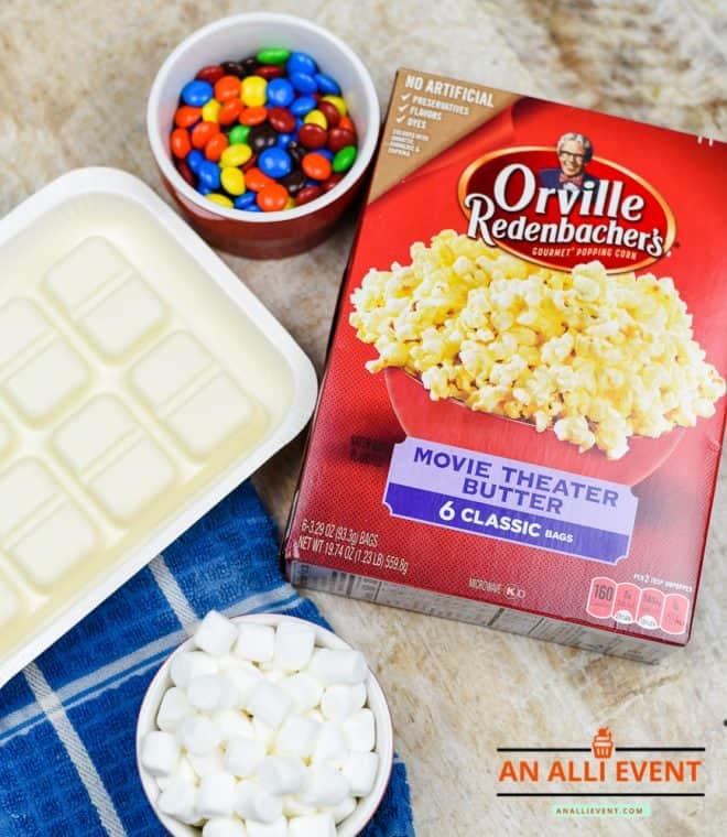 Bunny Tail Popcorn - Family Movie Night