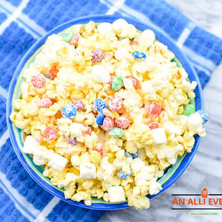 Bunny Tail Popcorn and Movie Night Slumber Party Ideas