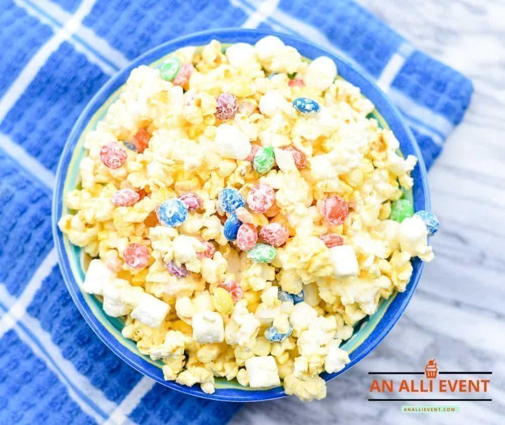 Bunny Tail Popcorn and Movie Night Slumber Party Ideas