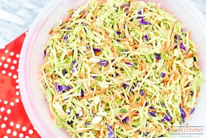 Oriental Ramen Broccoli Salad