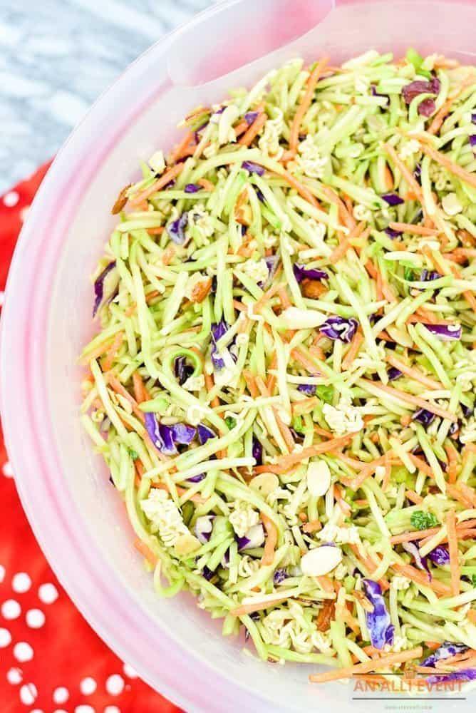 how to make ramen salad