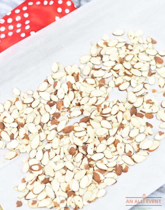 Toasted Almonds - Oriental Ramen Broccoli Salad