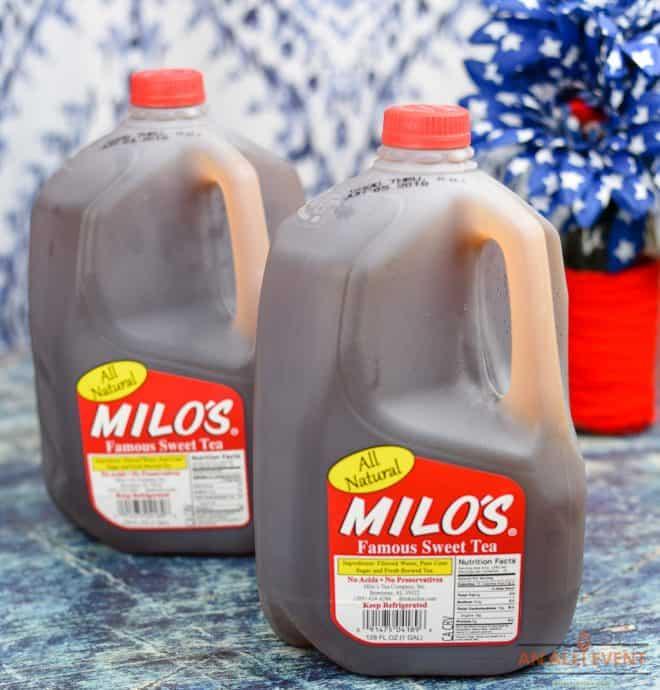 Milo's Tea - Peach Tea Punch
