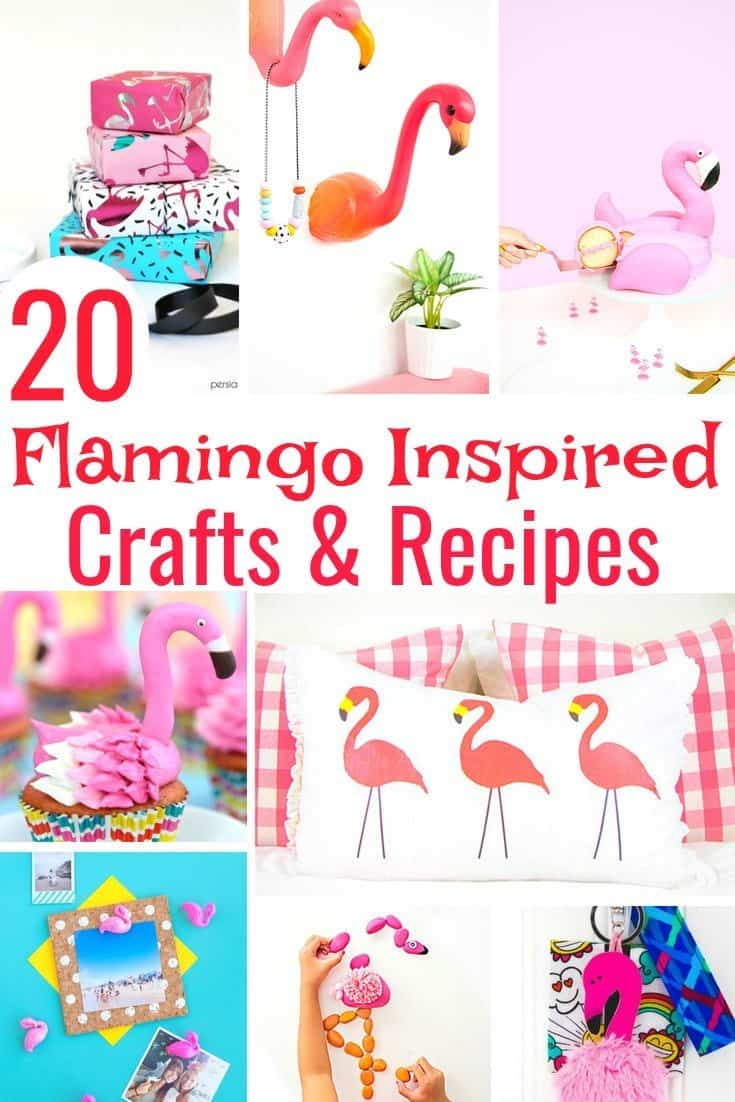 Flamingo Inspired Crafts Recipes