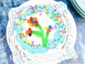 Happy Birthday Party Ice Cream Cake