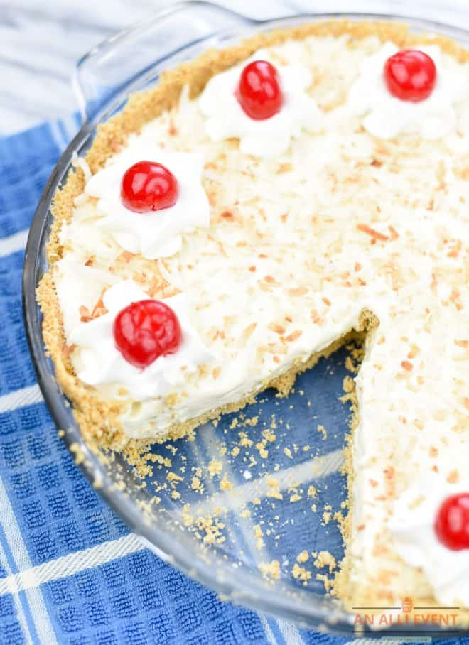 Pina Colada Pie Ready to Eat