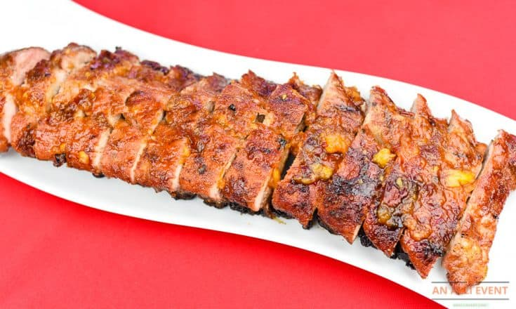 Peach Chipotle Grilled Ribs - Ready to Serve