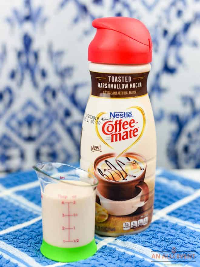 COFFEE-MATE Toasted Marshmallow Mocha Milkshake