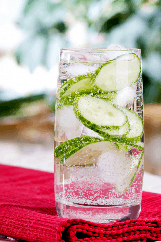 Cucumber Water - Infused Water Combinations
