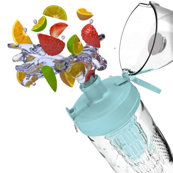 Infused Water Combinations and Water Bottle Ideas