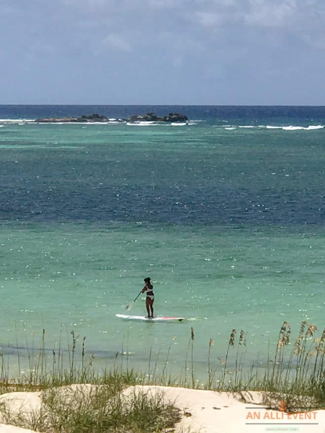 Paddle Boarding at East Bay Resort