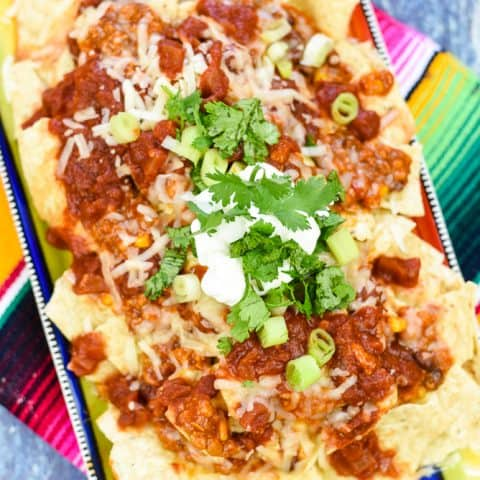 Loaded Nachos in 10 Minutes