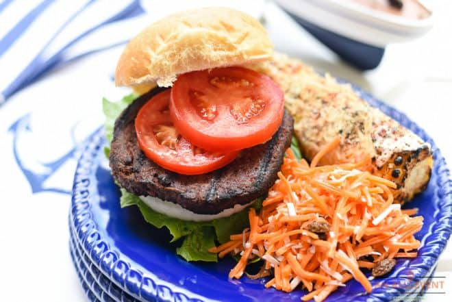 Coconut Carrot Salad and Meatless Monday Cookout