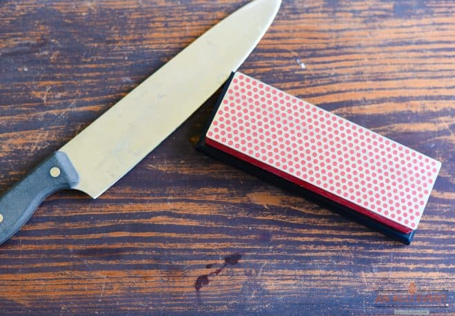 Sharpen Kitchen Knives with DMT