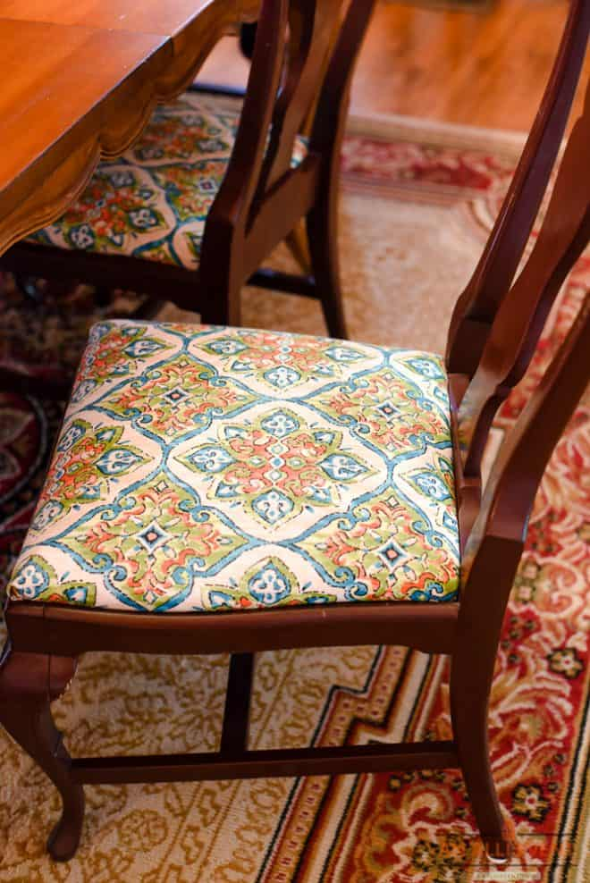 Dining Room Chairs Refresh