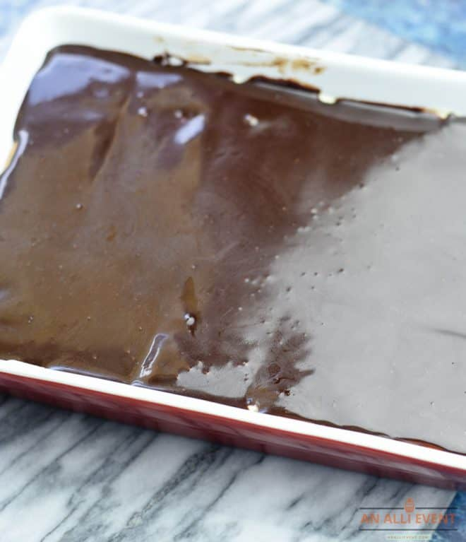 Chocolate Layer - Chocolate Eclair Dessert