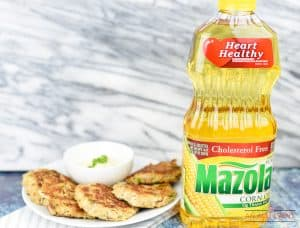 Lightened Up Crab Cakes with Mazola Corn Oil