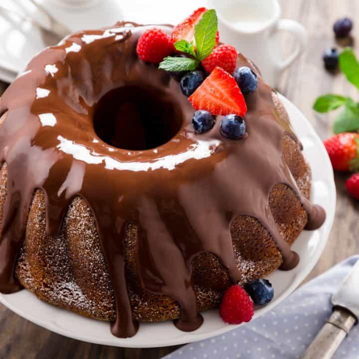 Triple-Chocolate-Bundt-Cake