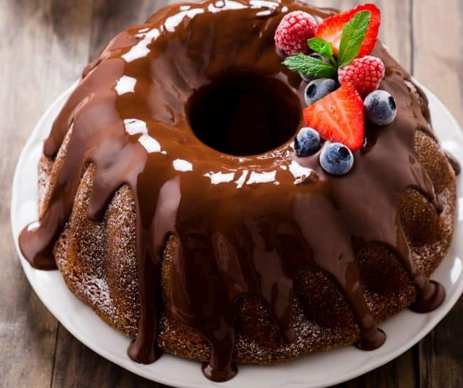 How to Make Triple Layer Chocolate Bundt Cake