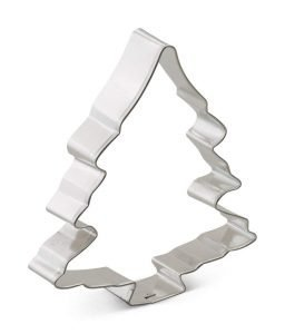 Cookie Cutter for Cheesy Christmas Tree Shaped Appetizers