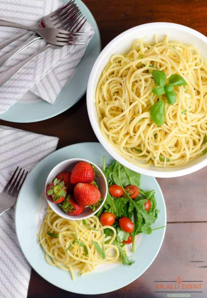 How I Serve Lemon Bucatini