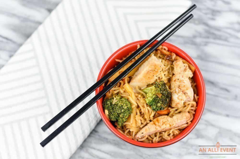 Miso Pork Ramen Stir-Fry in 20 Minutes